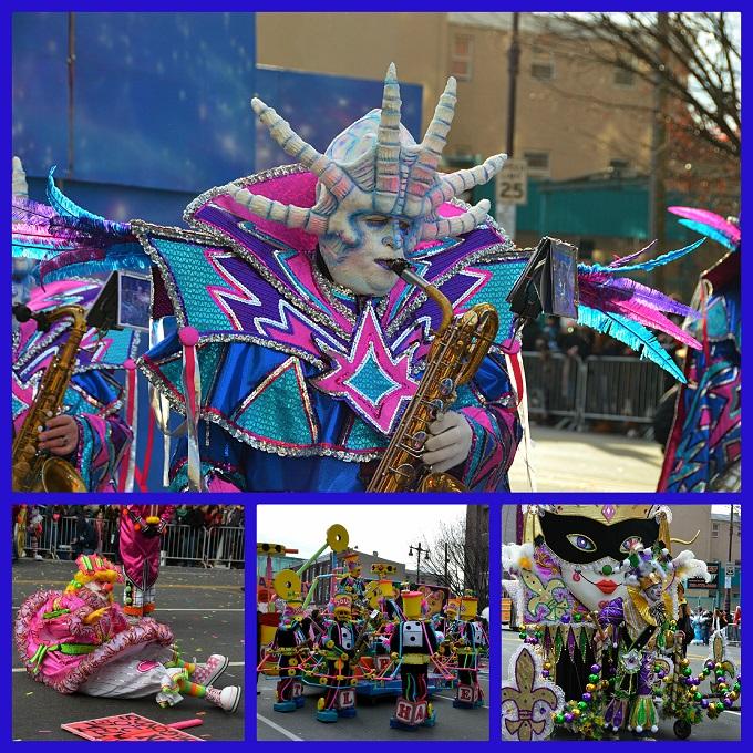 ''Mummers Parade'' iesk...