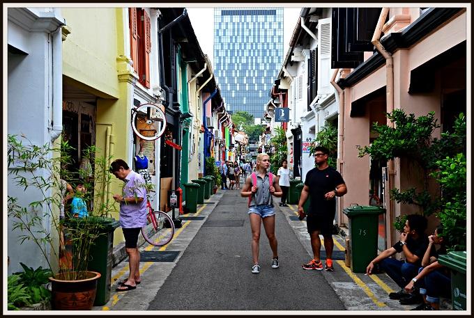 Singapūra - pirmo reizi...
